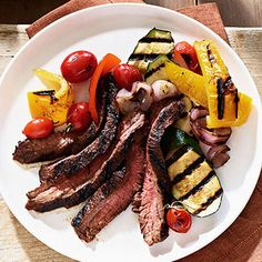 Chili Flank Steak #myplate #healthy #gameday #eats