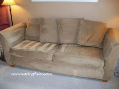Clean a microfiber couch