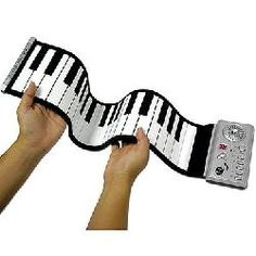 Roll-Up Electric Piano