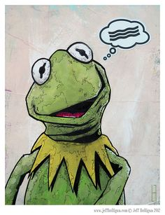 Bacon  Kermit The Frog