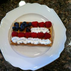 4th of July waffles!