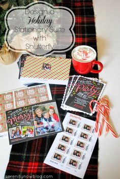 Holiday Card Design Ideas with #ShutterflyHoliday from Serenity Now