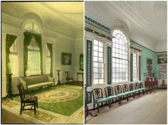 Mount Vernon room's new look is actually an old one