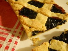 Blueberry Jam Pie