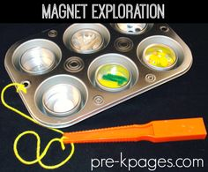 Magnet Exploration in the Science Center