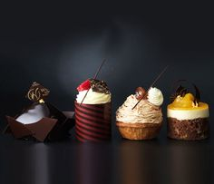 "Having opened his first shop in Richmond in 2004, award winning British Patissier and Chocolatier William Curley has now been awarded Britain's Best Chocolatier by the Academy of Chocolate for five consecutive years; 2007-2011. The Belgravia branch launched the first ""dessert bar"" in London where customers can sit at the bar and sample a tasting menu of desserts created in front of them by the chefs. Patisseries and home-made ice cream are also served at the store, as is a breakfast menu."