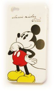 Amazon.com: Disney Mickey Mouse Hard Back Piece Faceplate Protector Case Cover Classic Mickey Standing Cs for Apple iphone 4s / 4g / 4: Cell Phones & Accessories