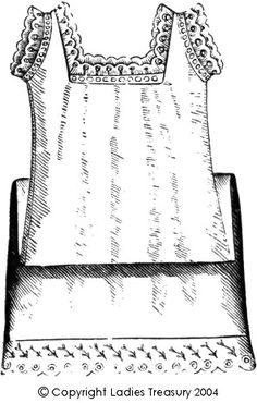 Free Pattern: Lady's Chemise, 1889 - 1893