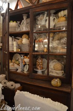 The cupboards are always full at LaurieAnna's!