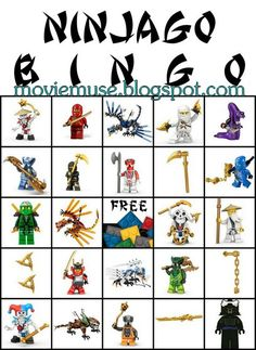 Movie Muse - Erin Expounds: LEGO Ninjago Birthday Party - Resource Guide