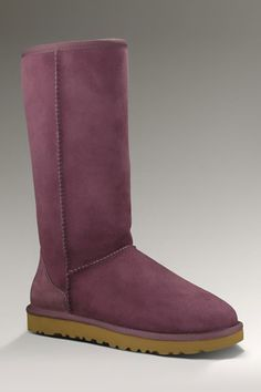 Ugg Classic Tall Boot In Plum.