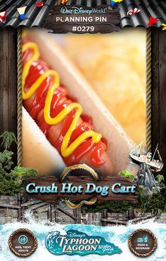 Walt Disney World Planning Pins: Hot Dog Cart