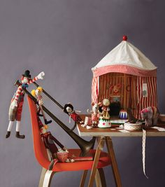 NEW Circus tent by Maileg - for little people - Sisters Guild    (via Paul & Paula)