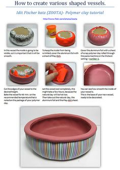 Polymer clay tutorial - PART 2 | Flickr - Photo Sharing!