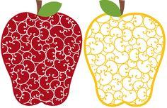 Burton Avenue: Freebie Friday - Swirly Apple