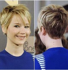Love Jennifer Lawrence hair style
