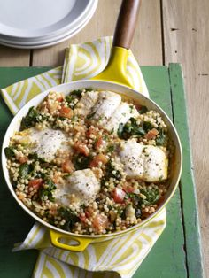Halibut, Pearl Couscous and Harissa #myplate #easydinners #seafood