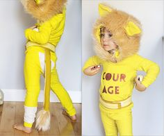 most adorable cowardly lion costume ever // girl like the sea #leon girl, birthday parties, coward lion, sea, costumes carnaval, babi, lion costum, ador coward, kid