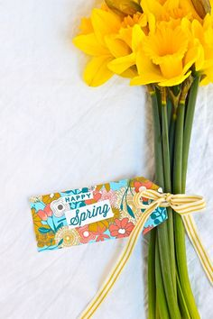 happy spring tags are my fave