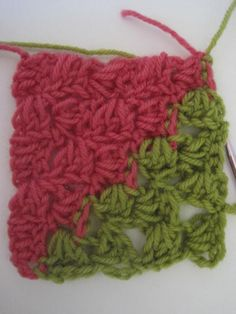Tutorial:  Crocheted box stitch
