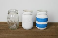 Spring Inspired DIY Mason Jars