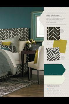 Bedroom inspiration from HGTV Bassett furniture