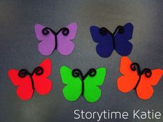 Flannel Friday: Butterflies! | storytime katie
