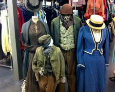 More than just a rental shop for film, theatre and television costume, Angels also provide inspiration to the fashion industry.