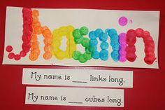 math, lee kindergarten, classroom, idea, names
