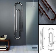 Paper clip radiator