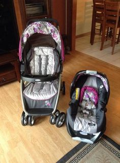 stroller and car seat combo on pinterest travel system car seats and disney babies. Black Bedroom Furniture Sets. Home Design Ideas