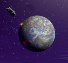 New Evidence Ancient Asteroid Caused Global Firestorm On Earth
