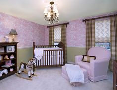Project Nursery - Pink and Green Nursery