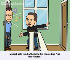 If classical music composers used Bitstrips - Mozart