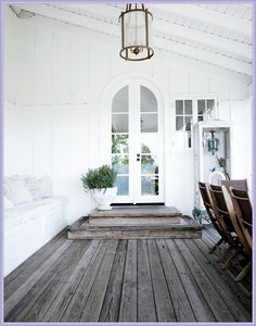 French Scandinavian White Decor