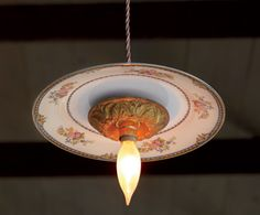 vintage plate light
