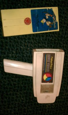 Fisher Price Movie Viewer, I think my mom still has this in her basement.