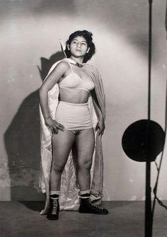 Irma González, Lucha Libre, 1960, Mexico