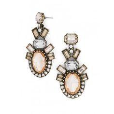 Blush earrings $38