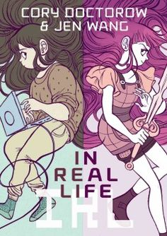 In Real Life by Cory Doctorow - Immersing herself in an online fantasy game, Anda confronts a difficult choice when she befriends a disadvantaged Chinese child who illegally collects rare items in the game and sells them to other players.