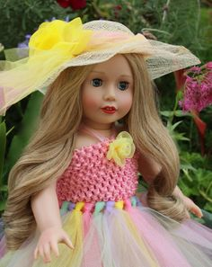 "Beautiful 18"" Doll, Cadence Rose, by Harmony Club Dolls. Visit www.harmonyclubdolls.com"