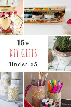 DIY gift ideas for e