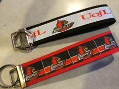 University of Louisville Cardinals Wristlet by thisandthatscraps, $5.50