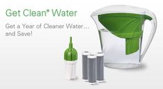 Get Clean® Water is a revolutionary new water filtration pitcher system certified by the Water Quality Association (WQA) to reduce up to 99% of lead (no other pitcher removes lead!)