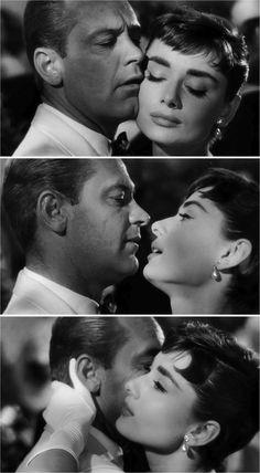 Audrey Hepburn & William Holden in Sabrina (1954)