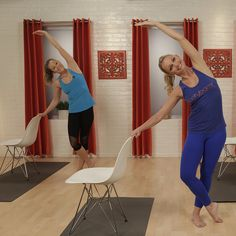 The Look-Good-Naked Barre Workout: Tone your trouble zones with this at-home barre workout with trainer Tracey Mallett — all you need is a chair!