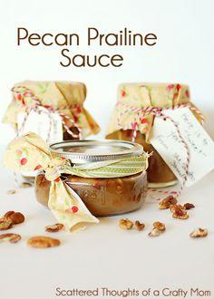 Pecan Praline Sauce