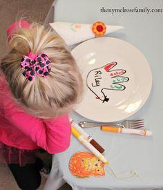 Kids Thanksgiving #Turkeytablescape