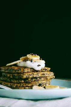 coconut, almond + quinoa breakfast cakes #recipe #healthyeats