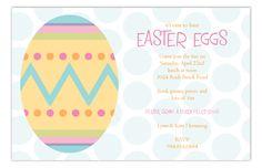 Easter Artwork Invitation